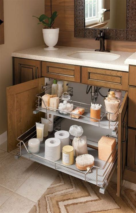 under kitchen cabinet storage ideas great idea for supplies under the kitchen sink too