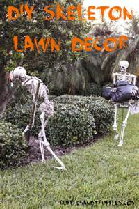 Homemade Halloween Outside Decorations Pin Decorations Ideas Halloween Crafts Ideas Fall