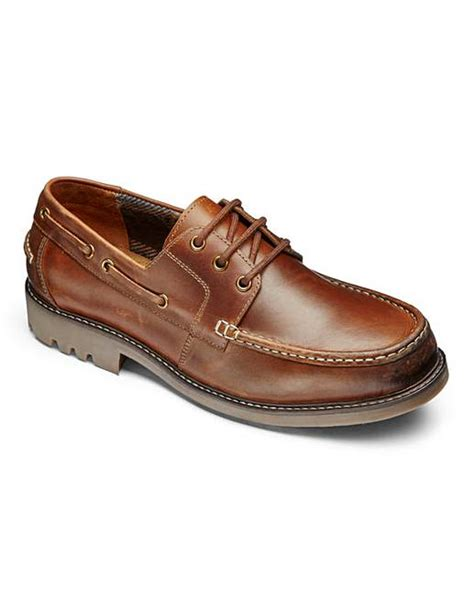 extra wide boat shoes trustyle chunky boat shoe extra wide fit fifty plus