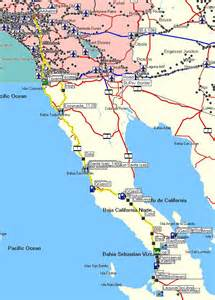Map Of Baja California Mexico by Baja California Mexico Map
