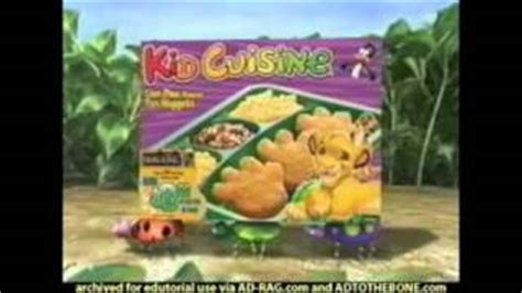 lions cucine all comments on the king 1 1 2 kid cuisine commercial