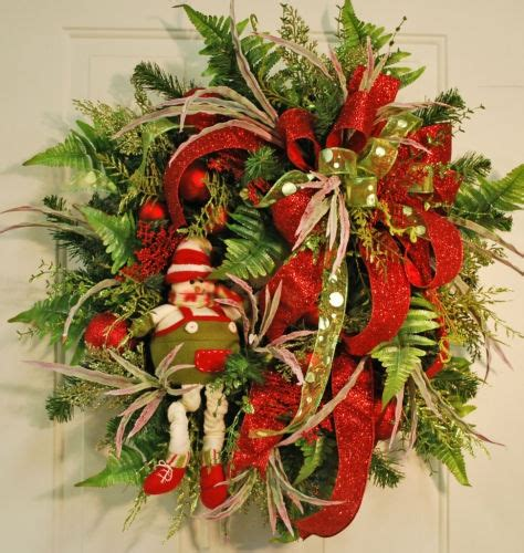 elves at christmas christmas wreaths for sale pinterest