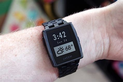 Smartwatch Tercanggih Pebble Steel Review At Last A Stylish Smartwatch