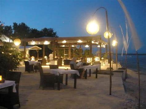 8 good restaurants on the gili islands restaurant at night picture of ko ko mo resort gili