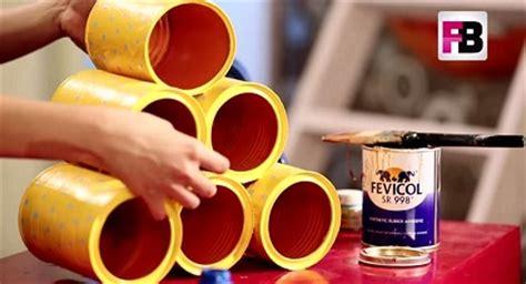 membuat robot dari kaleng ide membuat rak serbaguna dari kaleng cat bekas