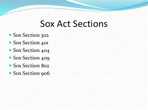 sarbanes oxley section 906 sarbanes oxley act 2002