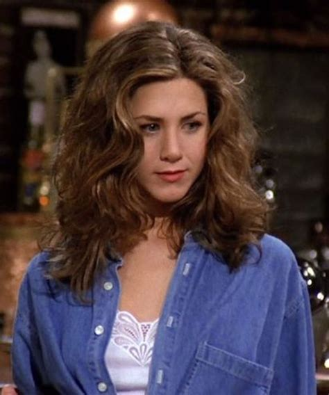 rachel greene wavy hair everything rachel green wore that s back in style the