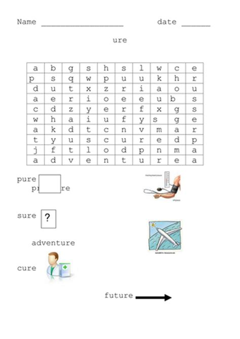 ure worksheets more phonic word searches by cariad2 teaching resources tes
