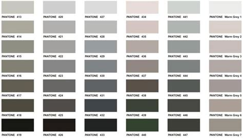 shades of grey color chart pantone gray google search pantone pinterest pantone