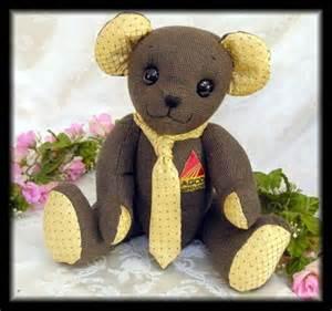Handmade Teddy Bears From Clothes - handmade memory bears and keepsake tedy bears by tammy