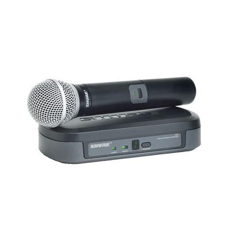 Mic Wireless Shure Blx 100 Multi Channel Handheld Legenda Artis shure pg24e pg58 t10 171 wireless systems