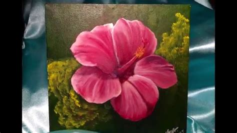 flower for painting acrylic painting hibiscus flower doovi