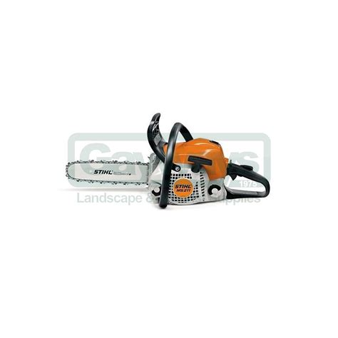 stuhl petrol stihl ms211 petrol domestic chainsaw stihl from gayways uk