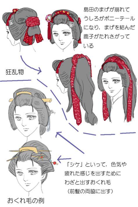 edo period male hairstyles нихонгами традиционные японские причёски