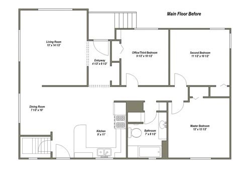 main floor plans younger unger house the plan