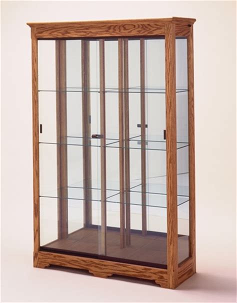 collectors glass display cabinet with light wall display