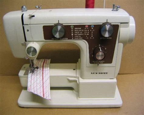 new home janome 641 sewing machine manual