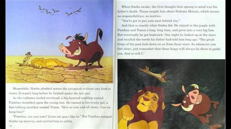 Disney Comics The King Read And Play quot the king quot read along book and record disney