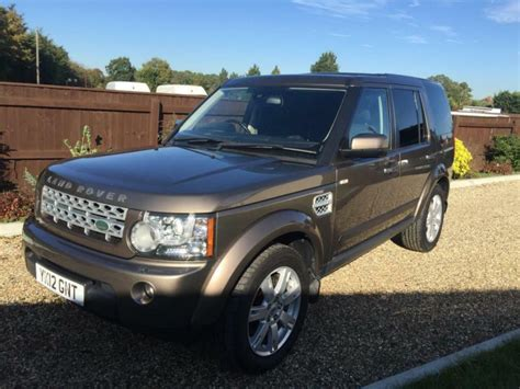 land rover discovery   sdv commercial van