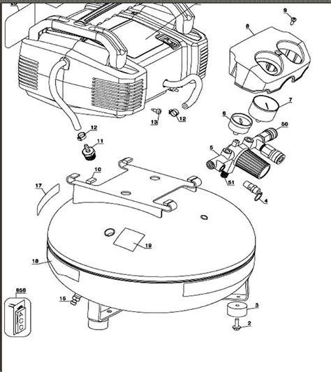 devilbiss c2002 wk 253750 air compressor parts