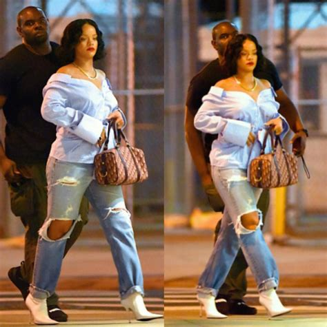 rihanna's new weight does look good on her