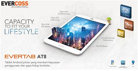 Tablet Android Evercoss At1a katalog handphone