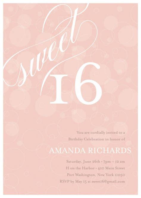 Sweet 16 Invitation Free Orderecigsjuice Info Sweet 15 Invitation Templates