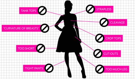 dress code for from to protest sexist dress codes