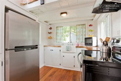 tiny home with a big kitchen family builds music city tiny house for fun and extra income
