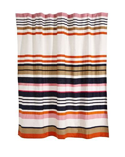 kate spade candy stripe shower curtain pin by laci long on home decor pinterest
