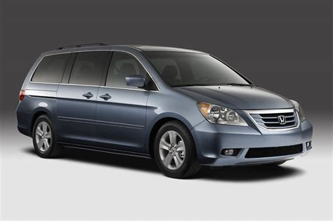 van honda 2008 honda odyssey unveiled with a very accord like grille