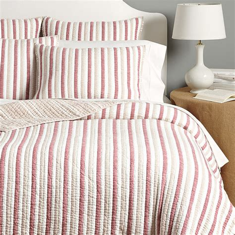ballard designs bedding henri french stripe quilted bedding ballard designs