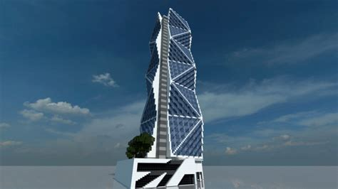 Luxury Home Plans 2015 Skyscraper 21 Minecraft Project