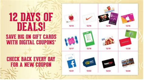 Fry S Gift Cards - fry s 12 days of gift card deals 5 off xbox multipack 30 gift card