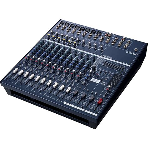 Audio Mixer Radio yamaha emx5014c 14 input stereo powered mixer musician s friend