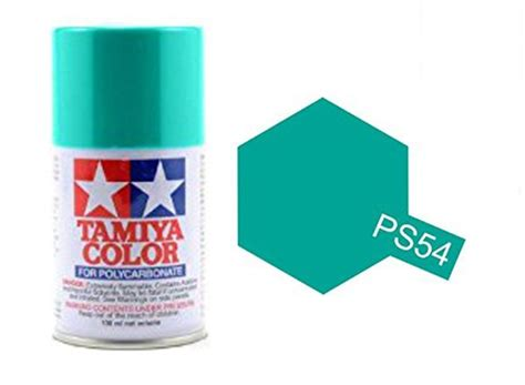 Tamiya Ps 54 Cobalt Green Spray Paint 100ml 1 tamiya spray paint ps 54 cobalt green acrylic paints