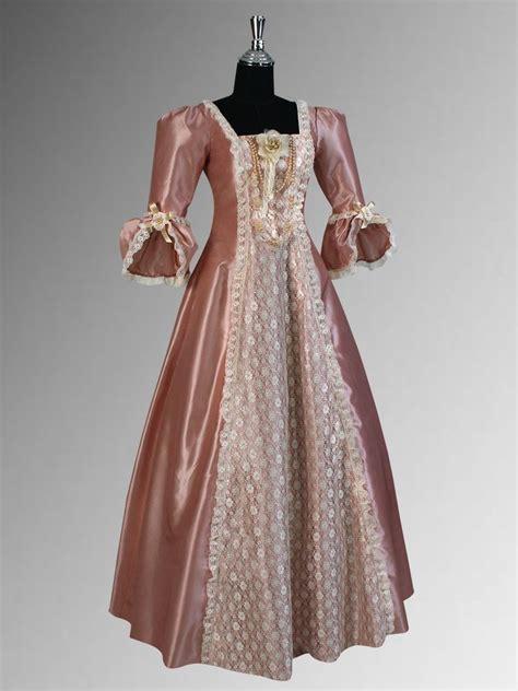 Handmade Wedding Gown - renaissance dress era style gown