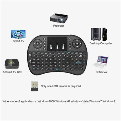 Keyboard Manual Laptop i8 2 4ghz mini wireless keyboard remote controls touchpad manual for tv box pc ebay