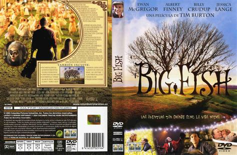 Big Covers Big Fish 2003 Poster And Dvd Cover