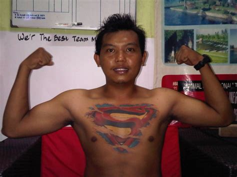 superman chest tattoo superman chest designs ideas and meaning tattoos