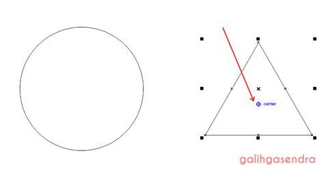 triangle pattern corel coreldraw tutorial align star odd points of star or