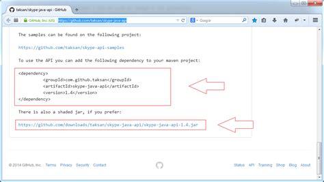 pattern java javadoc skype java api tutorial