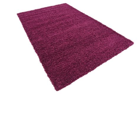 Soft Modern Thick Shaggy Rug 5cm Contemporary Fluffy Small Rug
