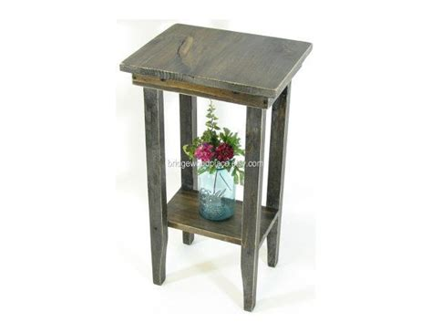 bedroom side tables inertiahome com side table rustic wooden end table nightstand by