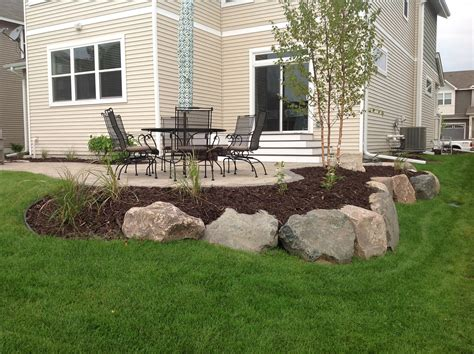 backyard patio landscaping ideas groundwrx landscape hardscape design maple grove mn