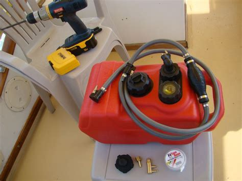 boat fuel tank generator voyages of sea trek extended use fuel tank for a honda