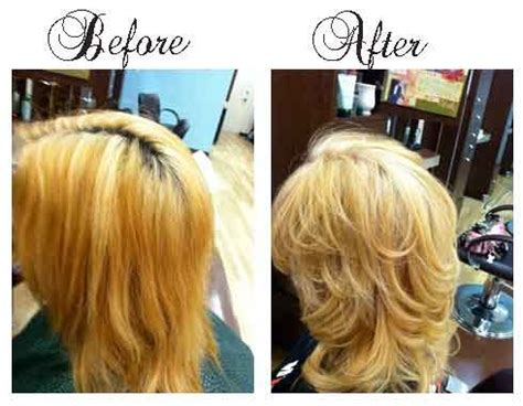 before orange brassy hair after beautiful ash blonde my hair pix for gt brassy hair before and after adventures in