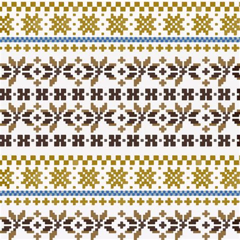 fair isle knitting motifs fair isle patterns on behance