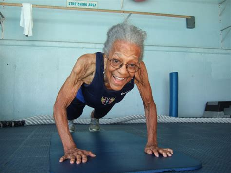 what is the old blacklady thatshape ida keeling the 99 year old runner