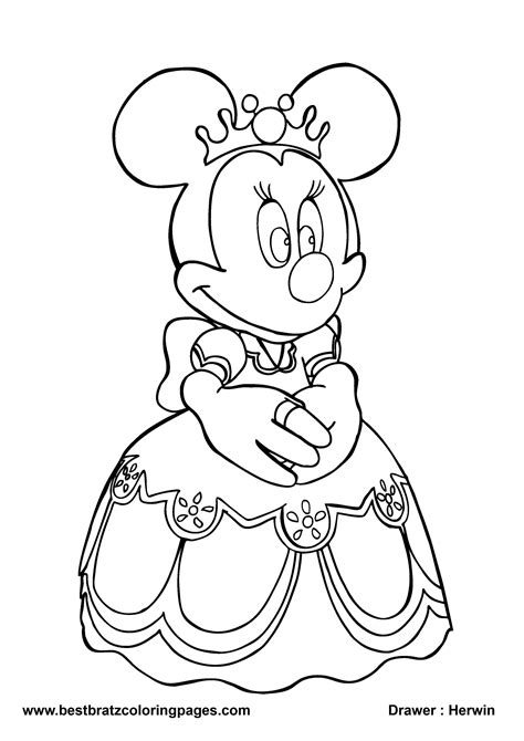 minnie mouse coloring pages disney bestofcoloring com
